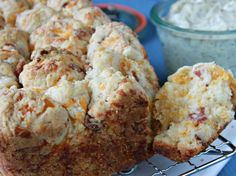 Bacon Cheddar Monkey Bread