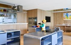 Spring Early Childhood Centre in Hong Kong | Kitchen scaled to the child