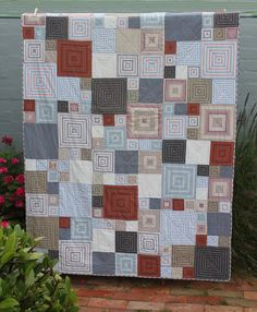""""""" Hi, I enjoy following your blog on Tumblr and thought you might like to see the quilt I recently finished for my teenage son. I've attached a pic (hope it worked). Kristina Beautiful! You have a..."""
