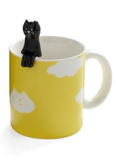 Morning cat mug