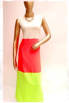 Shop Color Block Dress @ www.thepatialashahi.com