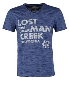 FITTED - T-Shirt print - real navy blue