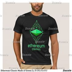 Ethereum Classic Made of Green T-Shirt