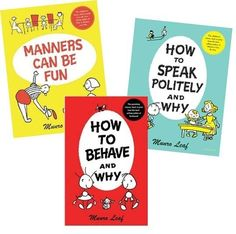 Books about Manners.  by brittney