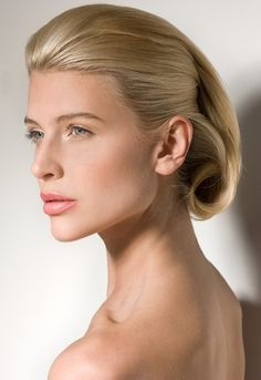 The retro faux bob - style to watch for Fall/Winter 2012. Perfectly sculpted, elegantly simple.