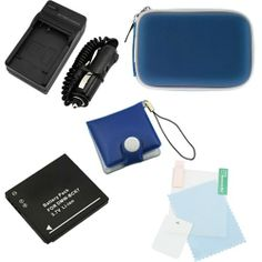 EZOPower Replacement Battery + Travel Charger Set + Blue Camera Case + Screen Protector + Memory Card Case for Panasonic Lumix DMC-S1 S2 S3 FH25 FH27 FH2 FH5 FH7 FH6 FH8 FP5 FP7 FX78 FX90K SZ1 SZ5 SZ7 TS20 TS25(DMW-BCK7 / BCK7E) - http://slrscameras.everythingreviews.net/9398/ezopower-replacement-battery-travel-charger-set-blue-camera-case-screen-protector-memory-card-case-for-panasonic-lumix-dmc-s1-s2-s3-fh25-fh27-fh2-fh5-fh7-fh6-fh8-fp5-fp7-fx78-fx90k-sz1-sz5-sz7.html