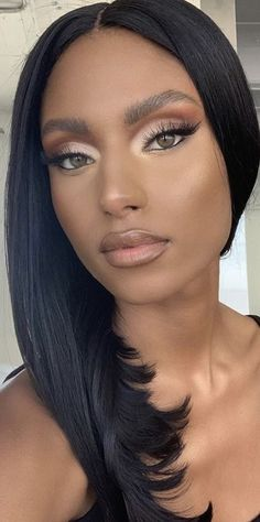 Makeup Art, Beauty Makeup, Mr T, Sexy Ebony Girls, Beauty And The Beat, Colouring Pics, Brown Makeup, Beautiful Women, Skin Care