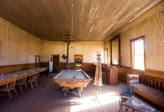 """Bodie, Calif., USA. Put the """"wild"""" in the Wild West, now a state park with about 100 buildings from the 1800s - early 1900s still standing!"""