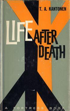 Life After Death, book cover, Design: Bernhard Sperl | Orange and Black