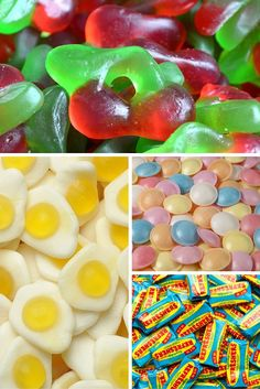 There comes a time in everyone's life when they grow up and realise there's more exciting things than a pick 'n' mix. That time is not now (and maybe never). Here's the most popular pick 'n' mix ranked from worst to best. Old Sweets, Retro Sweets, British Sweets, Sweet Bar, Food Wishes, Sugar Candy, Food Wallpaper, Snack Recipes, Snacks