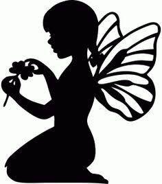 free fairy silhouette ile ilgili görsel sonucu