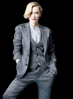 Cate Blanchett photographed by Brigitte Lacombe for Vanity Fair France April 2014
