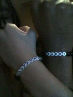 League of legends matching bracelet. I made them for me and my other. Would also make a nice gift.