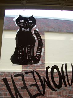 Cut paper cat