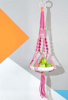Macramé hanging