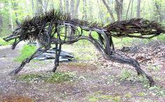 Metal sculptures by Wendy Klemperer