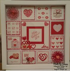 Sealed with Love stamp set and sending Love dsp