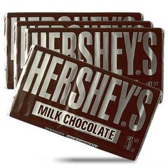 Hershey bars- can't get any more old fashioned than this classic candy bar. :)