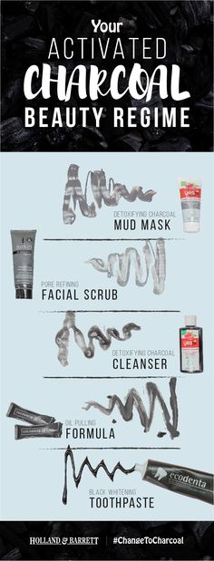 Whether you love products that give your skin some TLC, or you want to add some sparkle to your smile; chances are there's an activated charcoal product that'll deliver  The hard part is choosing which ones to use... #ChangeToCharcoal