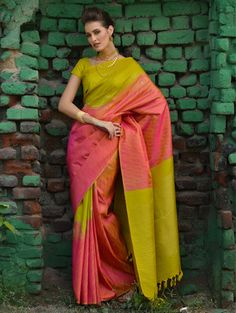 Classic Kanchivaram Silk Saree