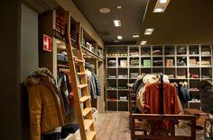 Brand new Woolrich Store in Sweden: Göteborg! #fashion #style #interior #architecture