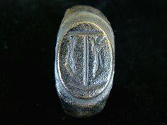 ROMAN LEGIONARY RING OF THE II ADIUTRIX 2nd Century AD