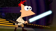 Phineas and Ferb - Star Wars Phineas Und Ferb, Best Shows Ever, Fangirl, Star Wars, Fandoms, Feelings, Comics, Stars, Fictional Characters