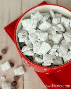 Our favorite snack ever - Puppy Chow!!