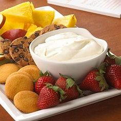 PHILADELPHIA Dessert Dip Recipe from our friends at KRAFT®
