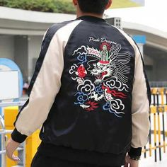 60b694942 25 Best dragon bomber jacket images in 2017   Jackets for men ...