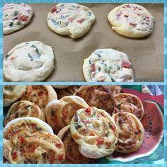Frischkäseschnecken - Trudels glutenfreies Kochbuch, glutenfrei backen und kochen bei Zöliakie. Glutenfreie Rezepte, laktosefreie Rezepte, glutenfreies Brot