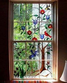 Stained Glass Door, Stained Glass Flowers, Stained Glass Panels, Leaded Glass, Mosaic Glass, Glass Painting Designs, Stained Glass Designs, Stained Glass Projects, Stained Glass Patterns