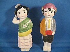 Carnival Chalkware Spanish Couple