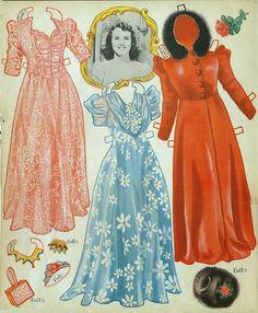 Deanna Durbin 1940 Merrill #3480 - Bobe Green - Picasa Webalbum