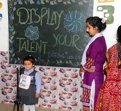 A sweet message given by  tiny tot at Display Your Talent 2015 #SMIPS  #StMarysInfantPreSchool #st_marys_infant_pre_school_jammu #DisplayYourTalent #preschoolactivities #preschools_in_jammu