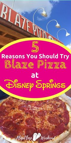 If you are looking into Disney Springs dining options, this restaurant review of Blaze Pizza explains why it makes a great choice for family-friendly Disney World dining that doesn't break the bank. #DisneyDining