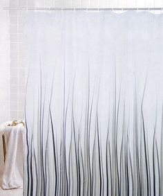 Take a look at this Gray Grass Shower Curtain & Hook Set by Kennedy Collection on #zulily today!