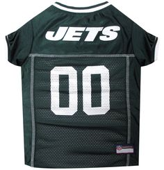 Pets First Co. New York Jets Pet Jersey, Green