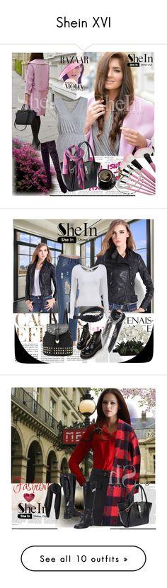 """Shein XVI"" by lip-balm ❤ liked on Polyvore featuring Bela, shein, Envi, Allstate Floral, vintage, Nila Anthony, Payne, Merkury Innovations, Janessa Leone and INC International Concepts"