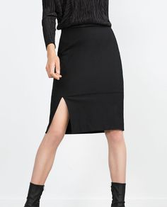 Image 2 of SKIRT WITH SLIT from Zara