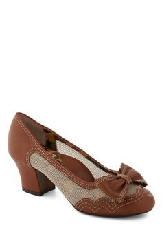 High price tag on these!  I got a pair of Miss L-Fire shoes in a Stylish Surprise once, and she does some pretty cool things :)  In for a Treat Heel, #ModCloth