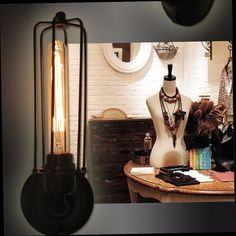 44.34$  Watch now - http://alimir.worldwells.pw/go.php?t=32549153120 - MODERN VINTAGE INDUSTRIAL LOFT METAL DOUBLE RUSTIC SCONCE WALL LIGHT LAMP BULB 44.34$