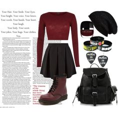 20º by constanca-horan-clifford on Polyvore featuring River Island, Cameo Rose, Dr. Martens, Halogen, beanie and lovemybeanie