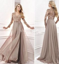 Anti Vintage 2017 Evening Dress With Long Sleeves Arabic Muslim Formal Gowns For Wedding Party Celebrity