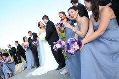 #WeddingPictures at #LincolnPark in Chicago with #BridalParty