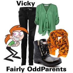 A fashion look from June 2012 featuring silk sleeveless blouse, low rise ripped skinny jeans and ankle combat boots. Browse and shop related looks. Fandom Fashion, Geek Fashion, Disney Fashion, Womens Fashion, Fashion Ideas, Casual Cosplay, Cosplay Outfits, Cosplay Ideas, Ankle Combat Boots