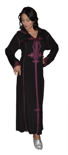 he traditional Moroccan clothing for both men and women is called djellaba, a long loose outfit with long sleeves and hood. On special occasions they also wear a red cap which is locally called fez. Women wear kaftans dazzled by ornaments. There is a difference between djellaba and kaftans. A djellaba has hood while a kaftans does not.