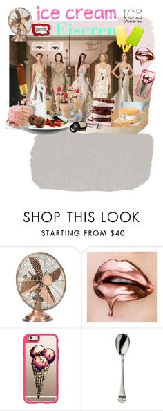 """Icecreame"" by magika890 ❤ liked on Polyvore featuring interior, interiors, interior design, home, home decor, interior decorating, Casetify, Robbe & Berking and icecreamtreats"