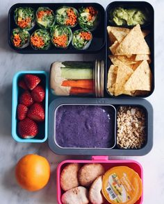 Vegan lunches, lunch snacks, healthy vegan snacks, healthy eating, vegan me Healthy Vegan Snacks, Vegan Lunches, Lunch Snacks, Health Snacks, Vegan Recipes, Healthy Eating, Eating Vegan, Lunch Box, Vegetarian Lunch