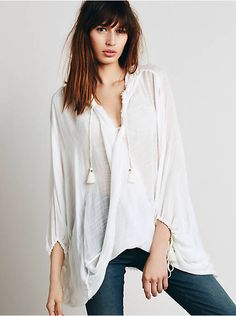 Free People Chill Away Hoodie, $88.00